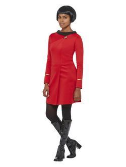 Piros Star Trek Filmből Ismert Nyota Uhura Női Jelmez