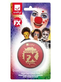 Piros Vízbázisú Arcfesték Make-Up Fix - 16 ml