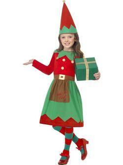 Piros-Zöld Manó Kislány Jelmez