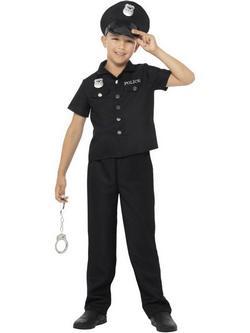 Rendőr Kisfiú Jelmez