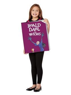 Roald Dahl Boszorkányok Óriás Könyv Gyerek Jelmez