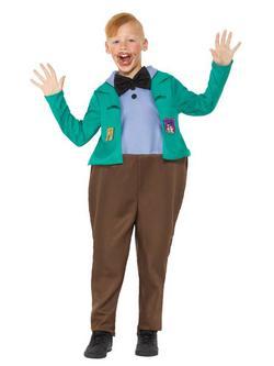 Roald Dahl Charlie és a Csokigyár Augustus Gloop Kisfiú Jelmez