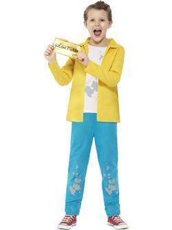 Roald Dahl Charlie és a Csokigyár Charlie Bucket Kisfiú Jelmez