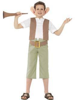 Roald Dahl Charlie és a Csokigyár Habó Kisfiú Jelmez