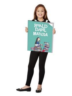 Roald Dahl Matilda Óriás Könyv Gyerek Jelmez