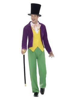 Roald Dahl Willy Wonka Férfi Jelmez