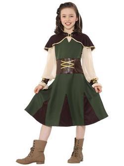 Robin Hood Kislány Jelmez