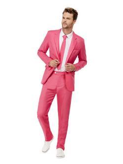 Rózsaszín Férfi Öltöny