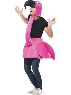 Rózsaszín Flamingó Felnőtt Jelmez