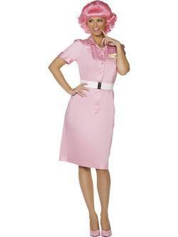 Rózsaszín Grease Frenchy Női Jelmez