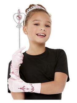 Rózsaszín Hercegnő Jelmezkellék Szett Gyerekeknek