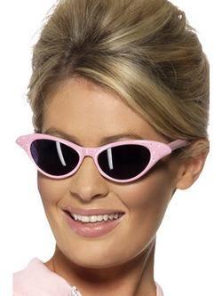 Rózsaszín Strasszköves Rock'n'Roll Napszemüveg
