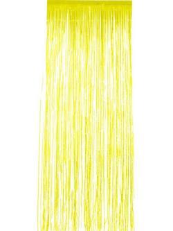 Sárga Csillogó Függöny - 91 x 244 cm