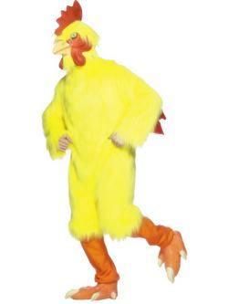 Sárga Csirke Férfi Jelmez