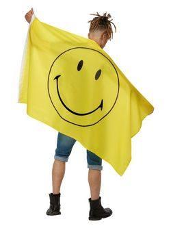 Sárga Nagy Smie Mintás Zászló