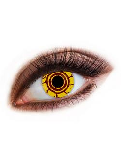 Sárga Vírus Kontaktlencse - 1 Napos