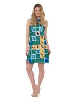 Scrabble Miniruha Női Jelmez
