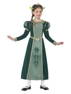 Shrek Fiona Hercegnő Kislány Jelmez