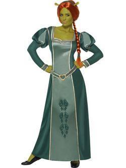 Shrek Fiona Női Jelmez