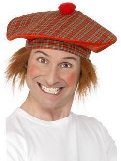 Skótkockás Sapka Hajjal
