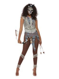 Sötét Szellem Harcos Női Jelmez Halloweenre