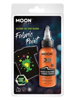 Sötétben Világító Narancssárga Szövetfesték Csomagolásban - 30 ml