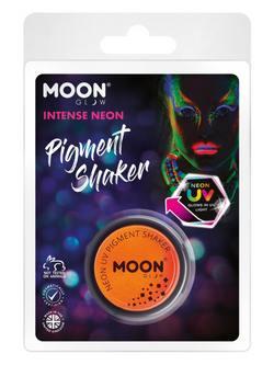 Sötétben Világító Neon Narancssárga Pigmentpor Csomagolásban - 5 g