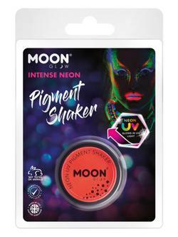 Sötétben Világító Neon Piros Pigmentpor Csomagolásban - 5 g