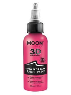 Sötétben Világító Rózsaszín Szövetfesték - 30 ml