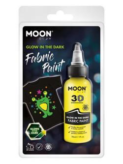Sötétben Világító Sárga Szövetfesték Csomagolásban - 30 ml