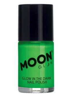 Sötétben Világító Zöld Körömlakk - 14 ml