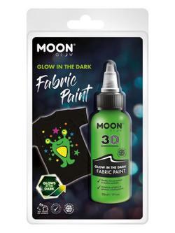 Sötétben Világító Zöld Szövetfesték Csomagolásban - 30 ml
