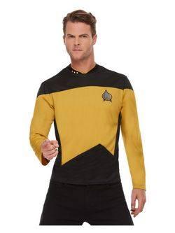 Star Trek: Az Új Nemzedék Egyenruha Jelmez Férfiaknak