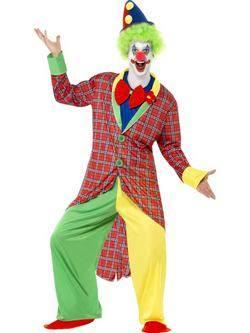 Különleges Cirkuszi Bohóc Férfi Jelmez