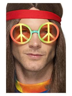Színes Hippi Szemüveg