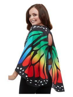 Színes Textil Pillangószárnyak