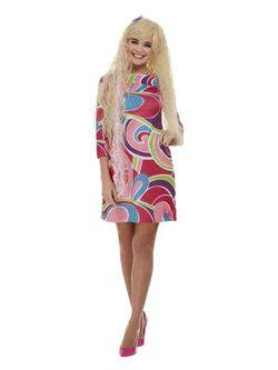 Szőke Hosszú Hajú Női Barbie Jelmez