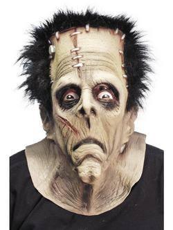 Szörny Frankenstein Maszk Hajjal
