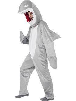 Szürke Cápa Felnőtt Jelmez