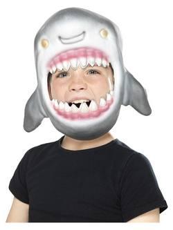 Szürke Cápa Gyerek Maszk