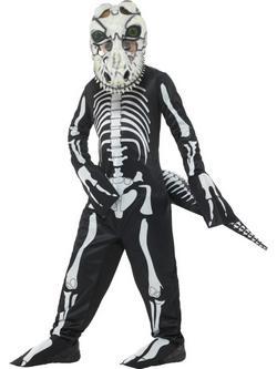 T-Rex Csontváz Gyerek Jelmez