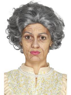 Többszínű Idős Hölgy Smink Készlet