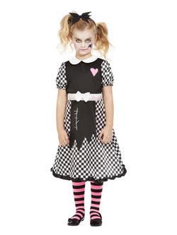 Törött Játékbaba Kislány Jelmez Halloweenre