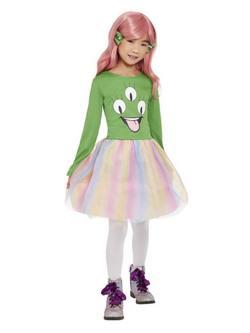 Tütüs Űrlény Kislány Jelmez Halloweenre