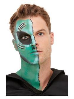 Űrlény Ihlette Zöldeskék Arcfesték Készlet Make-Up Fix