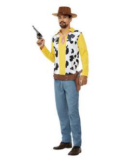 Vadnyugati Cowboy Férfi Jelmez