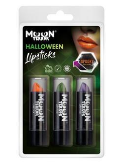 Vegyes Körömlakk Halloweenre - Narancs, Zöld, Lila - 3 db-os, 14 ml