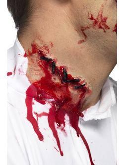 Véres Összevarrt Latex Sebhely