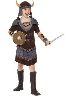 Viking Kislány Jelmez
