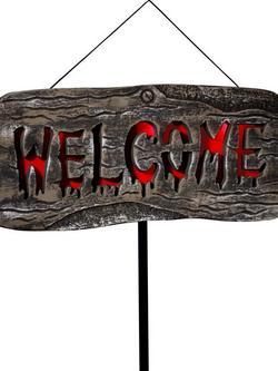 Világító Welcome Party Tábla